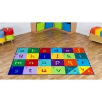 Funky Alphabet Classroom Carpet
