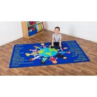 Global Friends Classroom Carpet