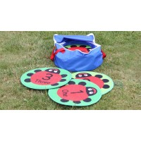 Ladybird Counting Outdoor Play Mats