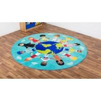 Multi Cultural Classroom Carpet