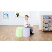 Pastel 4 Early Years Modular Seating