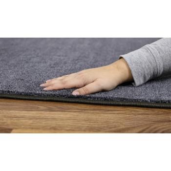 Plain Grey 2m Square Classroom Carpet