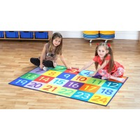 Rainbow 1-24 Classroom Carpet