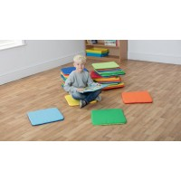 Rainbow Square Early Years Cushions
