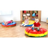Round Junior and Infant Bean Bags (Pack of 3)