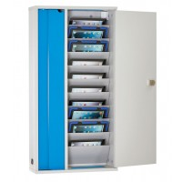 LapCabby Lyte Wall 10 Tablet Storage