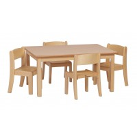 Infant Table and Chairs Set