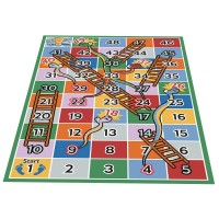 Snakes and Ladders Classroom Mat