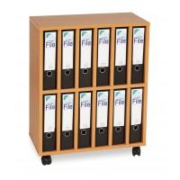 A4 Lever Arch Mobile Storage Unit