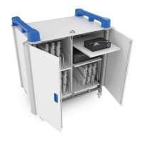 LapCabby 15v Vertical Laptop Charging Trolley