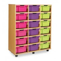 Mobile Deep Tray Storage Units