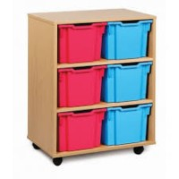 Mobile Extra Deep Tray Storage Units