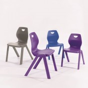 Flaire One Piece Classroom Chair