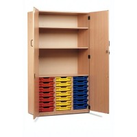 Locking Tray Storage Cupboards