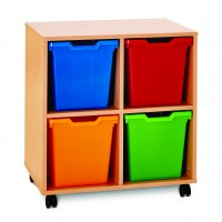 Pop Mobile Jumbo Tray Storage Units