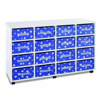 Stars Deep Canvas Tray Storage Units