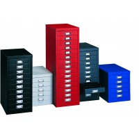 Silverline Multi Drawer Cabinets