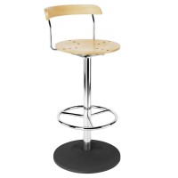 Bistro Hocker Chrome Bar Stool