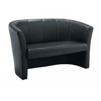 Club Leather Tub Sofa