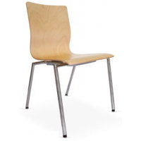 Espacio Plywood Cafe Chair