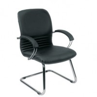 Mirage Leather Visitors Chair