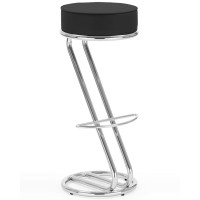 Zeta Hocker Chrome Bistro Stool