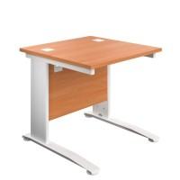 One Cable 800mm Single Desk