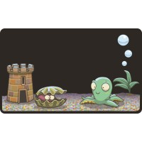 Funky Fish Tank Children's Chalkboard