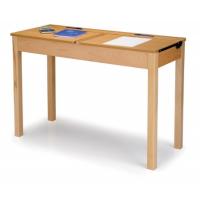 Double Wooden Locker Desks