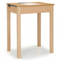 Single Wooden Locker Desks