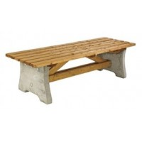 Pennine Wooden Outdoor Bench