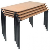 MDF Edge Stacking Classroom Tables