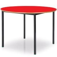 Round MDF Edge Classroom Tables