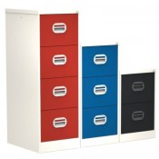 Silverline Kontrax Two Tone Filing Cabinets