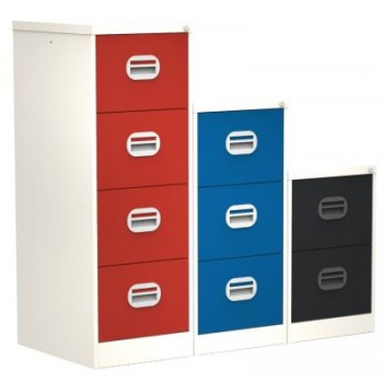 Silverline Kontrax Two Tone Filing Cabinets