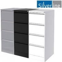 Silverline M:Line Filing Cabinets