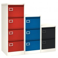 Silverline Two Tone Executive Filing Cabinets