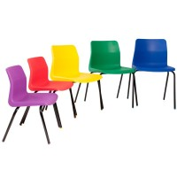 KM P6 Poly Chairs