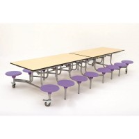 16 Seat Infant Folding Canteen Unit