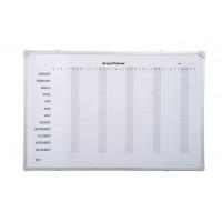 Aluminium Frame Annual Planner Whiteboard