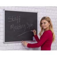 Aluminium Frame Chalk Writing Boards