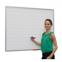 Aluminium Frame Lined Non-Magnetic Whiteboard
