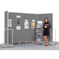 Insta-Wall Mobile Room Partition Screens