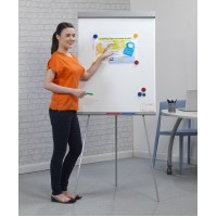 Magnetic Flip Chart Writing Board Easel