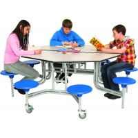 Round / Octagonal Mobile Table Seating Units