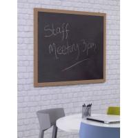 Wood Frame Chalk Writing Board