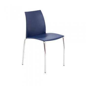 Adapt Chrome Cafe Chair
