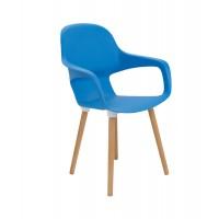 Ariel II Wooden Leg Cafe Chair