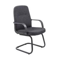Canasta Faux Leather Visitors Chair
