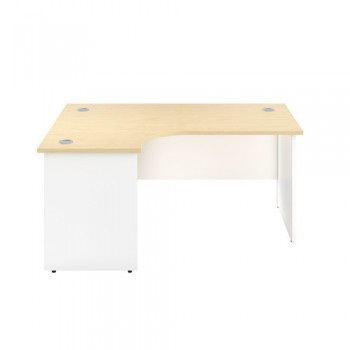 Panel Plus Two Tone Corner Office Desk